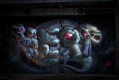 Zombiies! (Fat Heat .hu) Tags: lightpainting graffiti fatheat