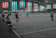 Teaneck, New Jersey (DDDavid Hazan) Tags: stereophotography 3d newjersey team soccer nj anaglyph tournament stereo teaneck futbol stereo3d indoorsoccer redcyan anaglyph3d redcyan3d anglyph3d