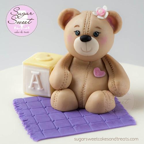 Baby Bear Cake Topper