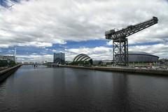 River Clyde, Glasgow, Scotland. (redbanshee) Tags: scotland glasgow dani scozia troiani redbanshee danitroiani