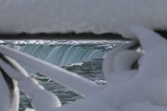 Through the railing IMG_7303 (susanghorvei) Tags: winter ontario canada ice niagarafalls view perspective niagara falls freeze railing ghorveiphotography