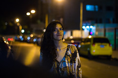 Genesis! (EduardoGiven) Tags: street blue light yellow night canon de photography noche venezuela caracas