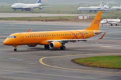 Saratov Airlines, VQ-BRX, Embraer ERJ-195AR (Anna Zvereva) Tags: plane airport aviation airbus boeing spotting dme domodedovo  uudd