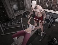 #227. I wanna do bad things with you... (Gui Andretti) Tags: life street woman playing man game male men yoga female noche living women couple mesh avatar badass style lovers clothes blueberry second nomad fitness decor gym acessories yuth pewpew6republic