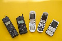 Going mobile (vk2gwk - Henk T) Tags: mobile nokia phone samsung telstra kpn communications aeg n95 sgha501