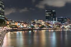 Boat Quay (Nick Lens Photography) Tags: longexposure boat nikon singapore asia quay gitzo boatquay leefliter
