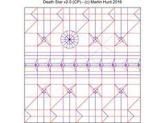 Death Star v2.0 (CP) (starwarigami) Tags: starwars origami deathstar diagrams starwarsorigami