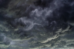 Stormy (Anna Francia Malucelli) Tags: city italy white storm black nature clouds landscape lights nikon shadows apocalypse mantova