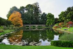 Dyrham Park (charlottehbest) Tags: uk autumn england lake water october nationaltrust 2015 dyrhampark dyrham charlottehbest