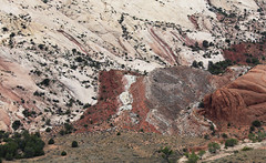 Colorful history (Jeff Mitton) Tags: utah sandstone capitolreefnationalpark coloradoplateau waterpocketfold redrockcountry grandgulch wondersofnature hallscreek earthnaturelife