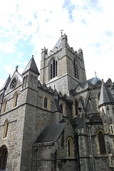 Christ Church Cathedral (mademoisellelapiquante) Tags: christchurchcathedral cathedral irishhistory architecture