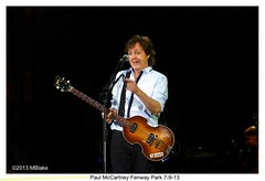 Paul McCartney (mblakephoto) Tags: summer music celebrity boston tour beatle fenway fenwaypark mccartney paulmccartney macca outthere
