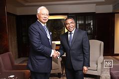 Kunjungan hormat oleh Timor Leste Prime Minister Dr Rui Maria de Araujo.Shnagri-la hotel.1/6/16