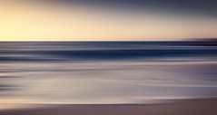 Riptide (Bruus UK) Tags: sunset sky seascape abstract motion blur beach coast moving marine cornwall surf dusk tide wave panning swell stives linear