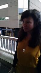Trish on the world's smallest balcony! (kristykay22) Tags: trish oklahomacity