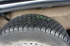Spare tyre (Pim Stouten) Tags: auto car restore vehicle jag restoration xjs jaguar macchina coup restauratie wagen pkw vhicule