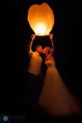 The night kiss (grimaux.jordan) Tags: wedding light love night dark french kiss couple dress husband lovers wife romantic lantern mariage