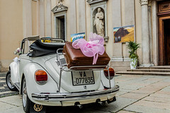 The wedding (exenza) Tags: wedding italy car beatle