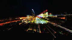 Warp speed! 172/366 (jenniferdudley) Tags: city nightphotography light skyline nikon zoom brisbane nighttime brisvegas nikond5 day172366 mynikonlife 366the2016edition 3662016 20jun16