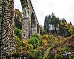 Hllental Railway bridge Baden-Wrttemberg, Black Forest Germany (PhotosToArtByMike) Tags: forest germany railway viaduct schwarzwald blackforest mountainrange badenwrttemberg breisgauhochschwarzwald southerngermany denseforest breitnau ravennaschlucht ravennarailwaybridge hllentalrailway