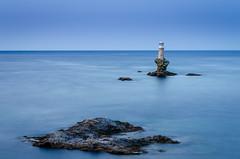 Lighthouse Andros (vangeliskakavas) Tags: andros lighthouse tourlitis long exposure lee big stopper seascape sea rocks