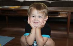 SMILE! (KaseyEriksen) Tags: boy smile face children happy child son grandson grin wyatt