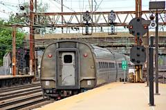 Leaving Trenton (craigsanders429) Tags: amtrak trainstations railroadsignals catenary railroadstations passengertrain northeastcorridor trentonnewjersey passengercars amfleet amtrakstations amfleetequipment pennsypositionlightsignals pennsylvaniarailroadpositionlightsignals