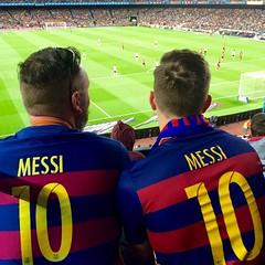 Messi / Nou Camp / Barcelona (rob4xs) Tags: barcelona football spain fussball stadium 10 catalunya stadion futbol bara fcbarcelona noucamp ftbol voetbal spanje fcb messi blaugrana valenciacf cataloni estadi lionelmessi leomessi iphonephoto