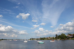 Big Skies Essex Style! (RiverCrouchWalker) Tags: rivercrouch southwoodhamferrers hullbridge essex sky river boats yachts clouds june 2016 bigskiesessexstyle countyofessex