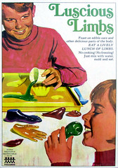 Luscious Limbs, 1966 (Tom Simpson) Tags: vintage 1966 cannibal cannibalism 1960 lusciouslimbs