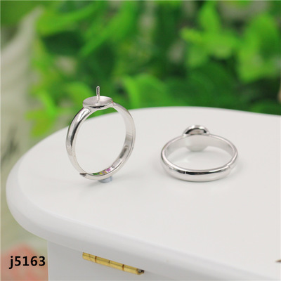Silver Club jewelry 925 sterling silver ring supporting ring