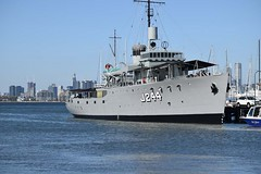 "HMAS Castlemaine (J244) 69 • <a style=""font-size:0.8em;"" href=""http://www.flickr.com/photos/81723459@N04/27394197362/"" target=""_blank"">View on Flickr</a>"