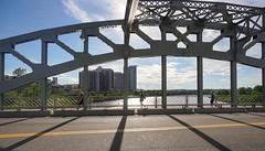 Walk across the Boston University Bridge (kingta7260) Tags: bridge boston bostonuniversity