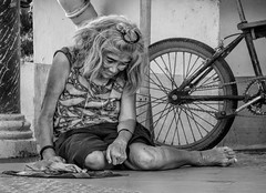 A Scarcity of Caring (FotoGrazio) Tags: poverty people blackandwhite woman art face composition contrast asian photography sadness sad photoshoot philippines homeless poor neglected expressions streetphotography streetportrait streetscene depression lonely filipina moment photographicart capture emotions bicol destitute digitalphotography legaspi mentalillness albay sandiegophotographer artofphotography flickrelite californiaphotographer internationalphotographers worldphotographer photographersinsandiego fotograzio photographersincalifornia waynegrazio waynesgrazio