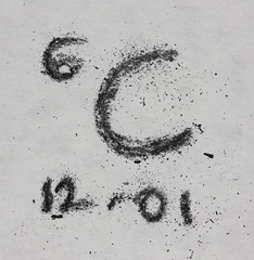 Carbon 6 - For Macro Mondays - The Periodic Table (RiverCrouchWalker) Tags: carbon element theperiodictable c6 charcoal letter numbers macromondays