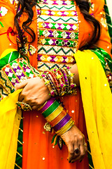 Rich Culture (ALi Rixvi) Tags: orange colors beautiful yellow bride flickr pattern colours dress embroidery vibrant rich middleeast culture special explore embroidered cultural middleeastern specialday