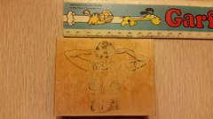 theda bara (carbonated) Tags: woman vintage mounted moviestar rubberstamp thedabara vlvs