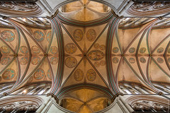 Salisbury Cathedral inside (loop_oh) Tags: uk greatbritain roof church cathedral unitedkingdom kathedrale ceiling nave salisbury salisburycathedral thenave