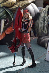 Alisa Illinichina Amiella (GetChu) Tags: anime expo 2016 los angeles convention center ax animation comic cartoon manga video game pc console japan culture japanese cosplay cosplayer costume god eater alisa illinichina amiella weapon gun