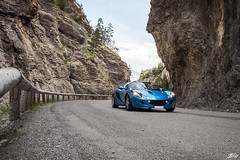 Lotus Elise (Jpog photographie) Tags: summer mountain france alps ford st montagne alpes french lotus sunny roadtrip renault sirius t rs caterham izoard r300 cayolle