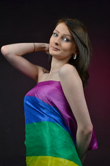 Wear Your Pride (Tom Shearsmith Photography) Tags: gay fashion photoshop studio photography photo model dress pride hull tone hdr 2017 tonemap