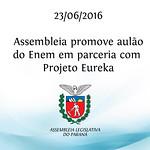Assembleia promove aul�o do Enem com Projeto Eureka 23/06/2016