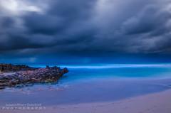 Storms - Trigg Beach. (JamieMarie Oaksford) Tags: ocean longexposure seascape storm landscape nikon cloudy sigma australia perth storms westernaustralia triggbeach oceanscape outdoorphotography 10mm20mm nikond7000 norhofperth