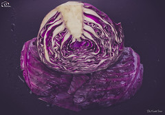 Half Of A Red Cabbage! (Kashi Klicks) Tags: stilllife food art photography salad healthy artistic eating vegetable cabbage kashi kk coleslaw freshness garnish ingredient rawfood halffull foodphotography vegetarianfood redcabbage purplecabbage klicks organicphotography kklicks kashiklicks
