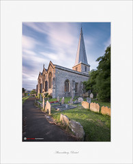 St Mary's, Almondsbury, Bristol (Scott Howse) Tags: uk longexposure trees england sky cloud sunlight colour church bristol nikon village churchyard nikkor gravestones almondsbury nd1000 nd110 1635mmf4 d800e