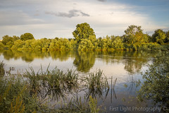 Evening Stroll in Sawley (First_Light_Photography) Tags: evening walk sawley sunset river trent water reflections green trees nature