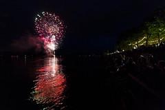 Fireworks (grosser_Salat) Tags: color colour water night canon wasser neon fireworks nacht firework celebration 28 johannes fest markt fluss rhein farbe mainz bunt jahrmarkt 2016 rummelplatz 14mm johannesfest