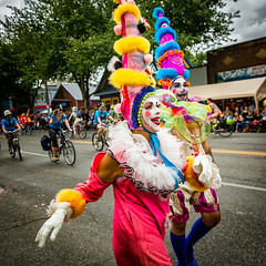 Clowning (KPortin) Tags: seattle clowns fremontsolsticeparade