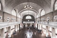 Window Wednesday: Ellis Island, New York City (jo fields) Tags: newyork window ellisisland