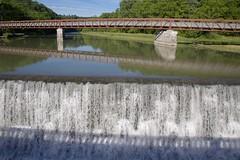 160615 At Mt Morris Bridge (BY Chu) Tags: newyork genesee geneseeriver mtmorrisbridge